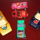 Assortment of Diecast die cast cars - Ferrari 308, Yatming Corvette, Midget jeep, Matchbox
