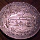 United Charity Institutions of Jerusalem aluminum coin token - Rachel's Tomb