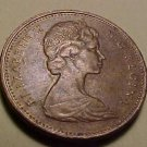 1969 Canada 1 cent penny coin