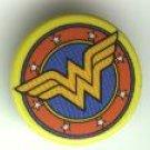"""Wonder Woman comic book promo button pin, 1995, mint, 1"""", DC comics"""