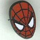 Spider-man (spiderman) head tie-tac style pin button, 1992, mint, Marvel comics