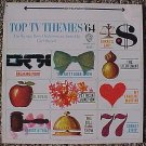 Top TV Themes of 1964 LP vinyl record album 33rpm, VG, jacket has bent corner, Carl Brandt