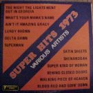 Super Hits 1973 LP vinyl record album 33rpm, various artists, EX