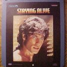 Staying Alive Video Disc CED, John Travolta, Disco, Bee Gees, Dir. by Sylvester Stallone