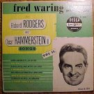 "Fred Waring Orchestra: Rodgers & hammerstein songs Vol. II 10"" LP record album, VG, 1950"