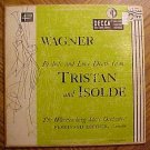 "Wurttemberg State Orchestra Wagner, Prelude & Love Death from Tristan & Isolde, 10"" LP record album,"
