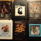 Kenny Rogers 8-Track tape assortment - 6 tapes, Gambler, Gideon, 10 Years of Gold, MORE!