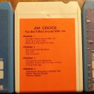 Jim Croce 8-Track tape assortment - 3 tapes, Life & Times, I Got a Name, Don't Mess Around w/ Jim