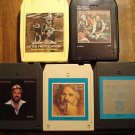 Kenny Rogers 8-Track tape assortment #2 - 5 tapes, Daytime friends, Greatest Hits, Gambler, MORE!