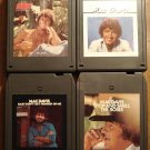 Mac Davis 8-track tapes assortment 4 tapes - Forever Lovers, It's hard to be Humble, MORE!