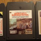 Bluegrass music 8-Track tape assortment 3 tapes Greatest hits, Lester Flatts, MORE