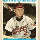 1964 Topps baseball card #22 Jerry Adair VG Baltimore Orioles