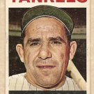 1964 Topps baseball card #21 Yogi Berra VG New York Yankees