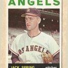 1964 Topps baseball card #71 Jack Spring VG Los Angeles Angels