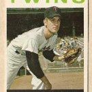 1964 Topps baseball card #34 Jim Perry VG Minnesota Twins