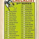 1964 Topps baseball card #102 2nd Series Checklist - Unmarked VG - right edge raised slightly