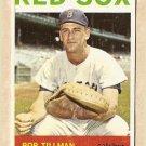 1964 Topps baseball card #112 Bob Tillman VG Boston Red Sox