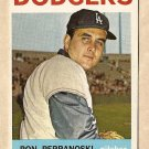 1964 Topps baseball card #30 Ron Perranoski VG Los Angeles Dodgers