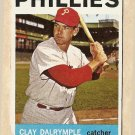 1964 Topps baseball card #191 Clay Dalrymple VG Philadelphia Phillies
