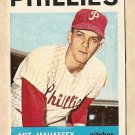 1964 Topps baseball card #104 Art Mahaffey VG Philadelphia Phillies