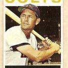 1964 Topps baseball card #121 Pete Runnels VG/EX Houston Colts