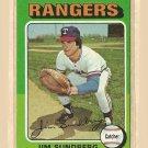 1975 Topps baseball card #567 Jim Sundberg NM/M Texas rangers
