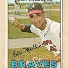 1967 Topps baseball card #89 Felix Millan EX Atlanta Braves