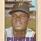 1967 Topps baseball card #66 Manny Mota VG/EX (low gloss) Pittsburgh Pirates