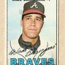 1967 Topps baseball card #119 Wade Blasingame VG- Atlanta Braves