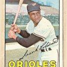 1967 Topps baseball card #100 Frank Robinson EX Baltimore Orioles