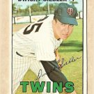 1967 Topps baseball card #164 Dwight Siebler EX Minnesota twins