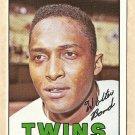 1967 Topps baseball card #224 Walt Bond EX/NM Minnesota twins