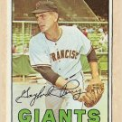 1967 Topps baseball card #320 Gaylord Perry G/VG (vertical crease) San Francisco Giants
