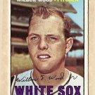 1967 Topps baseball card #391 Wilbur Wood VG Chicago White Sox