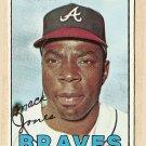 1967 Topps baseball card #435 Mack Jones EX Atlanta Braves