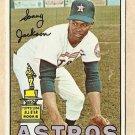 1967 Topps baseball card #415 Sonny Jackson EX Houston Astros