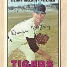 1967 Topps baseball card #420 Denny McLain EX Detroit Tigers