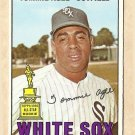 1967 Topps baseball card #455 Tommie Agee EX/NM Chicago White Sox