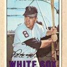 1967 Topps baseball card #436 Pete Ward VG/EX Chicago White Sox
