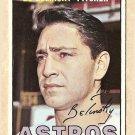 1967 Topps baseball card #447 Bo Belinsky VG/EX Houston Astros