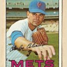 1967 Topps baseball card #537 Chuck Estrada EX New York Mets