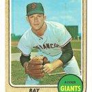 1968 Topps baseball card #494 Ray Sadecki - poor condition San Francisco Giants