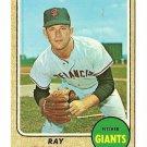 1968 Topps baseball card #494 (B) Ray Sadecki EX/NM San Francisco Giants