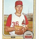 1968 Topps baseball card #269 Bob Tiefenauer EX Cleveland Indians