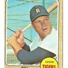 1968 Topps baseball card #470 Bill Freehan VG (miscut) Detroit Tigers