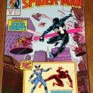 Peter Parker, The Spectacular Spider-man comic book #128 w/ Daredevil & Black Cat