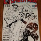 Peter Parker, The Spectacular Spider-man (spiderman) comic book #133 Marvel Comics