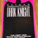 DC Comics Batman Legends of the Dark Knight #1 Red/Magenta/pink cover