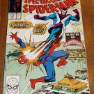 Peter Parker, The Spectacular Spider-man (spiderman) comic book #144 Marvel Comics