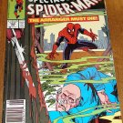Peter Parker, The Spectacular Spider-man (spiderman) comic book #165 Marvel Comics